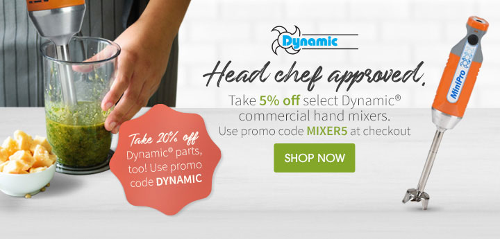 Take 20% off Dynamic® parts too! Use promo code: DYNAMIC