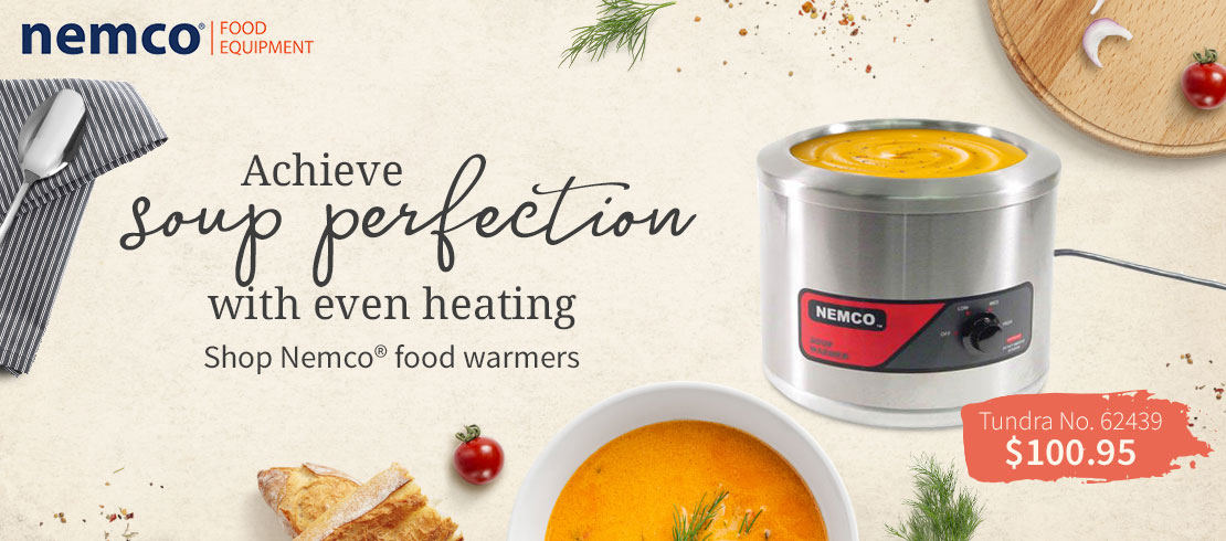 Call today for our best pricing on Nemco® food warmers