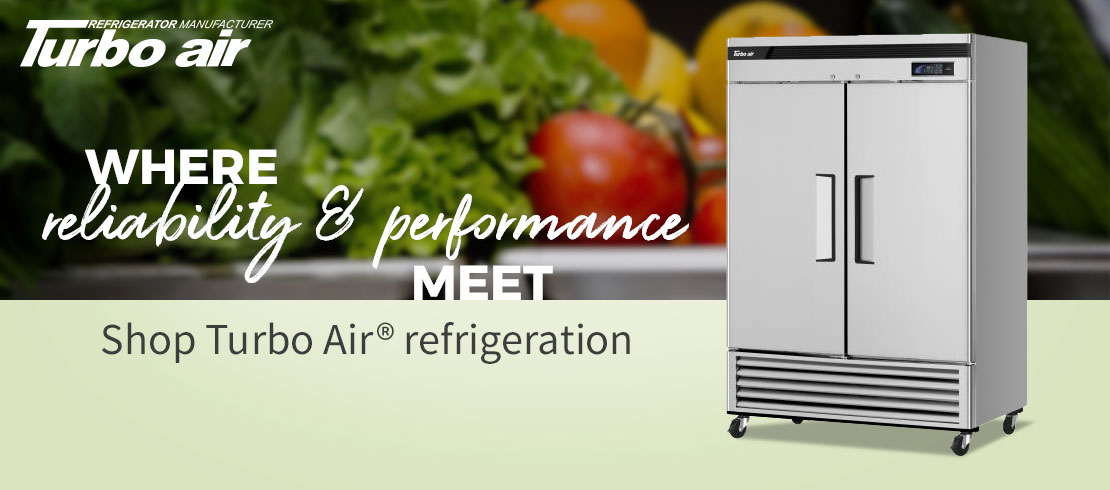 Call today for our best pricing on Turbo Air® refrigeration
