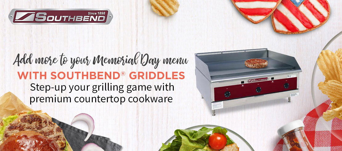 Shop Southbend countertop cooking equipment