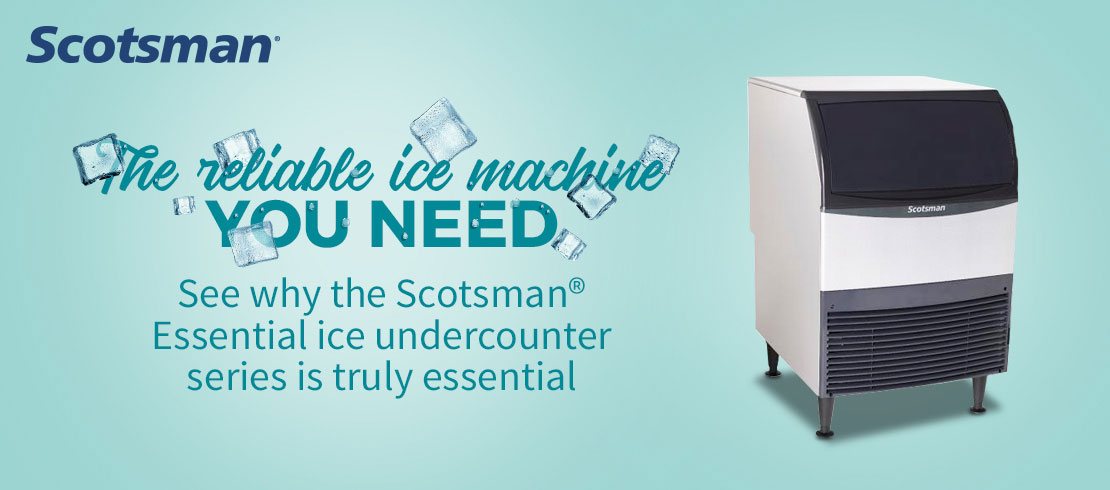 Save on Scotsman undercounter ice machines