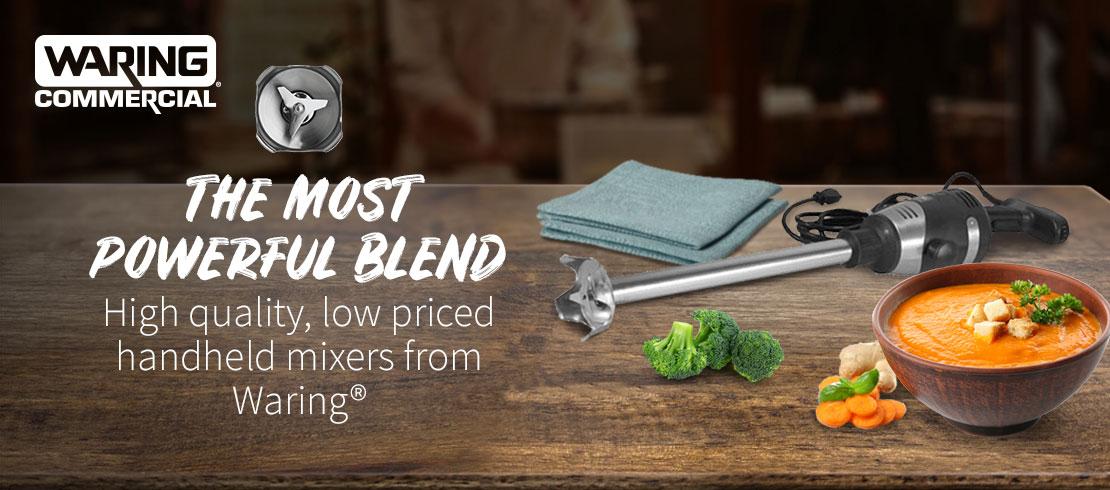 Save on Waring handheld mixers