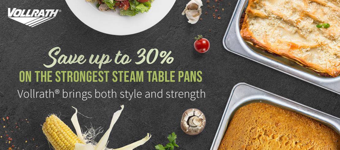 Save up to 30% off on Vollrath