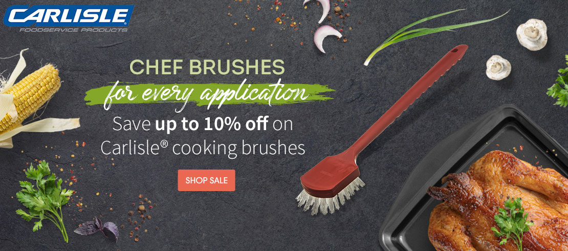 Save up to 10% off on Carlisle® cooking brushes