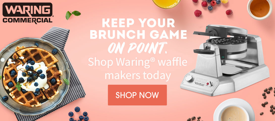 Shop Waring® waffle makers today
