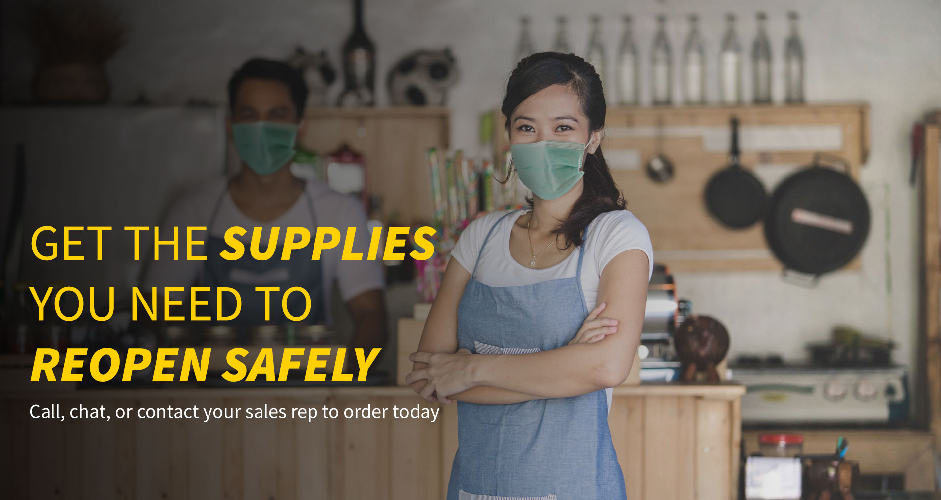 Safety supplies, PPE and more