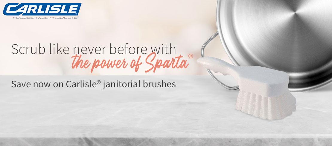 Take 20% off Carlisle® janitorial brushes