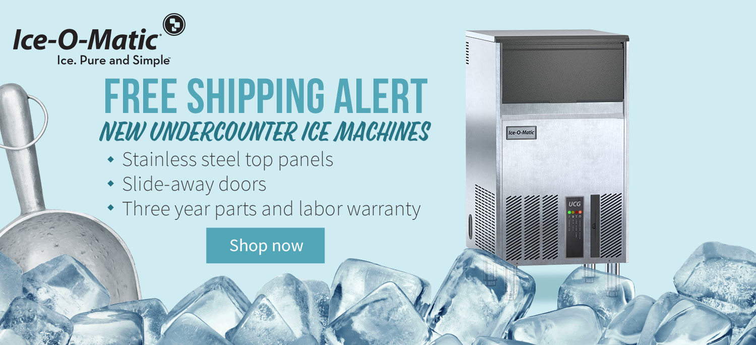 Get Free Shipping on Ice-O-Matic